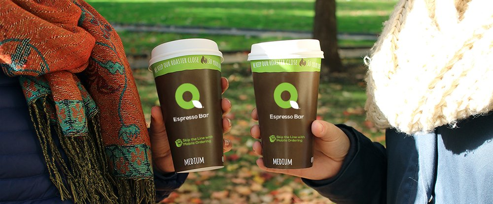 Hot Coffee and Drinks At QuickChek Convenience