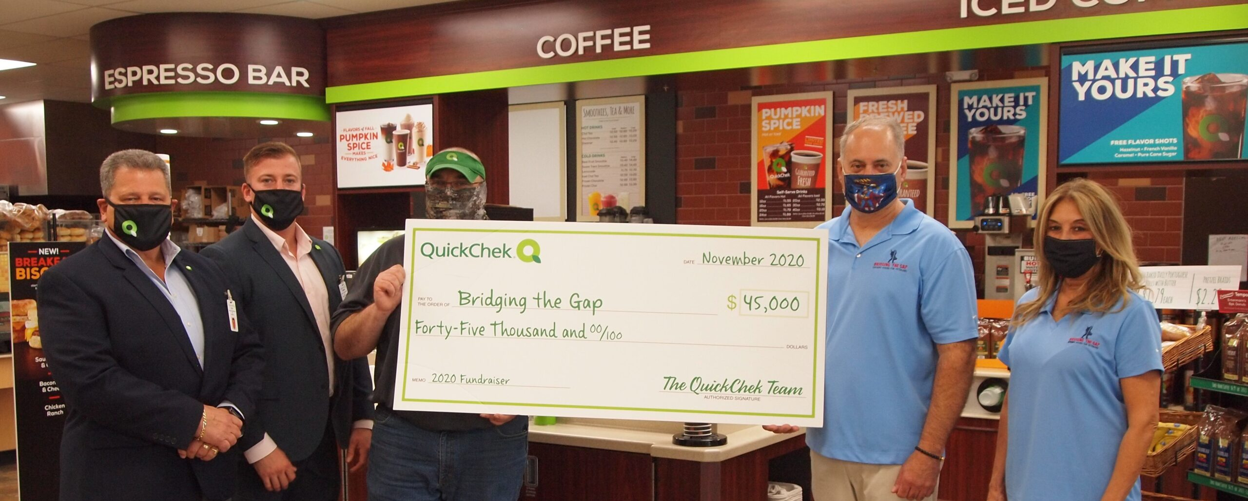 quickchek makes donation for vets